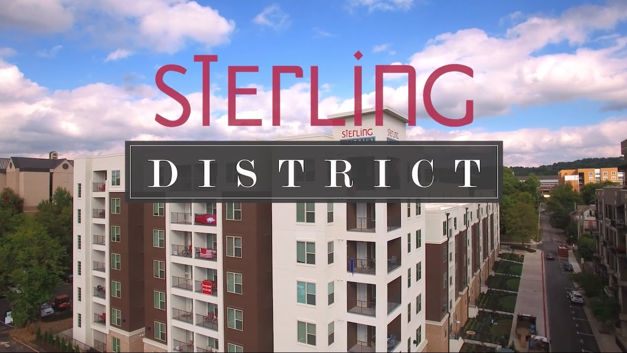 sterling district luxury student apartment living in fayetteville sterling district luxury student apartment living in fayetteville ar youtube