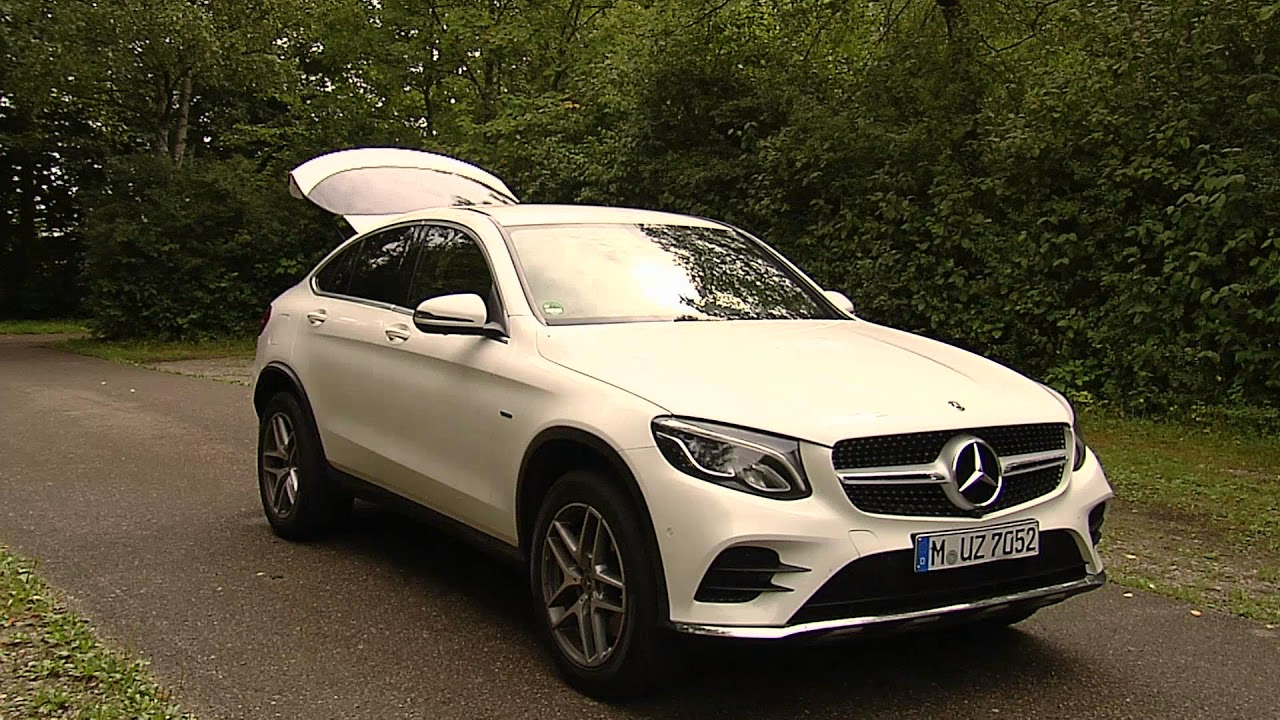 autotest mercedes glc 350e 4matic coupe youtube. Black Bedroom Furniture Sets. Home Design Ideas