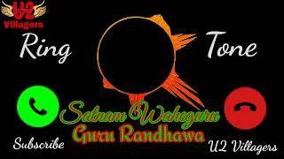 Satnam Waheguru Song Ringtone - Guru Randhawa !! Latest New Punjabi Song Ring Tone!! Satnam Waheguru