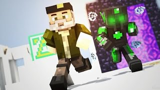 SUERTE POR TODO MINECRAFT! | - Willyrex vs sTaXx - Carrera épica Lucky Blocks