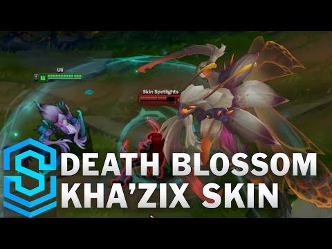 Death Blossom Kha'Zix Skin Spotlight