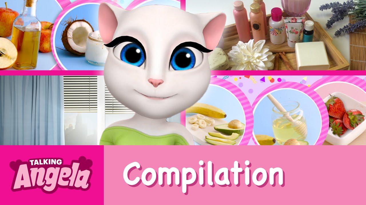 0b6c14128dc0d Talking Angela - My Beauty Video Compilation - YouTube