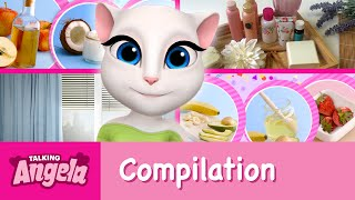 Talking Angela - My Beauty Video Compilation(I love beauty products! But day-to-day I like to keep things simple - a homemade face scrub here, a DIY hair mask there. And it's all so easy to do. Don't believe ..., 2016-08-11T13:10:56.000Z)