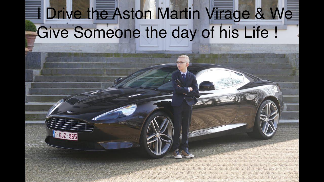 I Drive The Aston Martin Virage YouTube - Aston martin virage