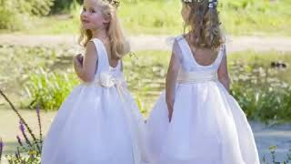 Holy communion dresses collection by French designer Little Eglantine