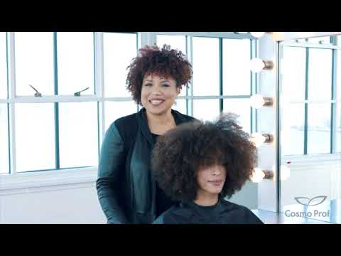 Dry Cutting Curly Hair with Daze from Cosmo Prof Beauty