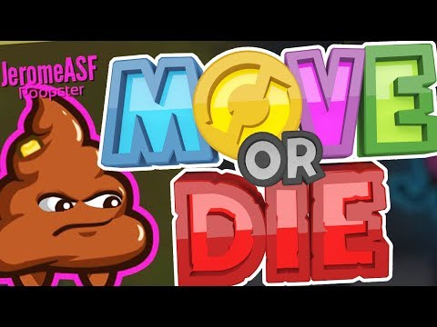 THE ONLY GAME THAT CAN RUIN MY FRIENDSHIPS FASTER THAN MONOPOLY!! - MOVE OR DIE!