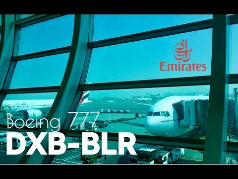 Emirates | Dubai to Bangalore | EK 566 | Flight Experience ✈