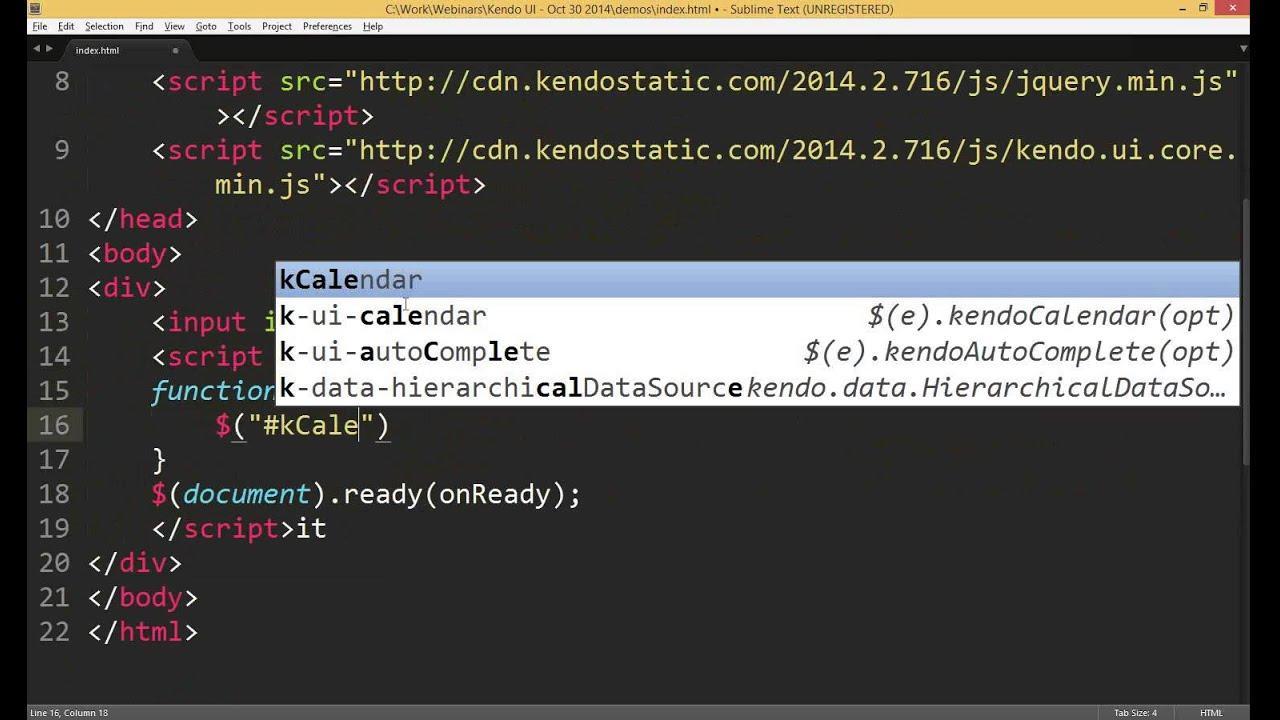 Kendo UI | Telerik Helper - Helping Ninja Technologists | Page 2