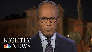 Lester Holt's Final Thoughts On The President Donald Trump-Vladimir Putin Meeting | NBC Nightly News