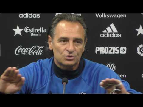 Prandelli señala y carga contra los futbolistas de la mala situación del Valencia CF