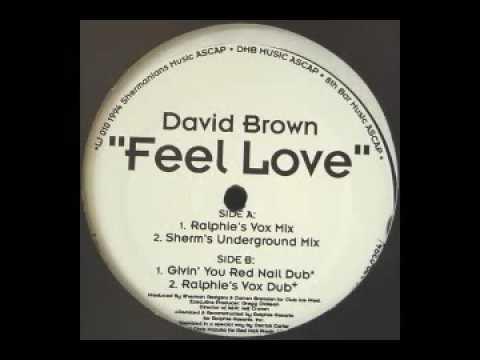 David Brown - Feel Love (Red Nail Dub)