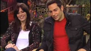 Mandy Moore and Zachary Levi - Tangled Interview