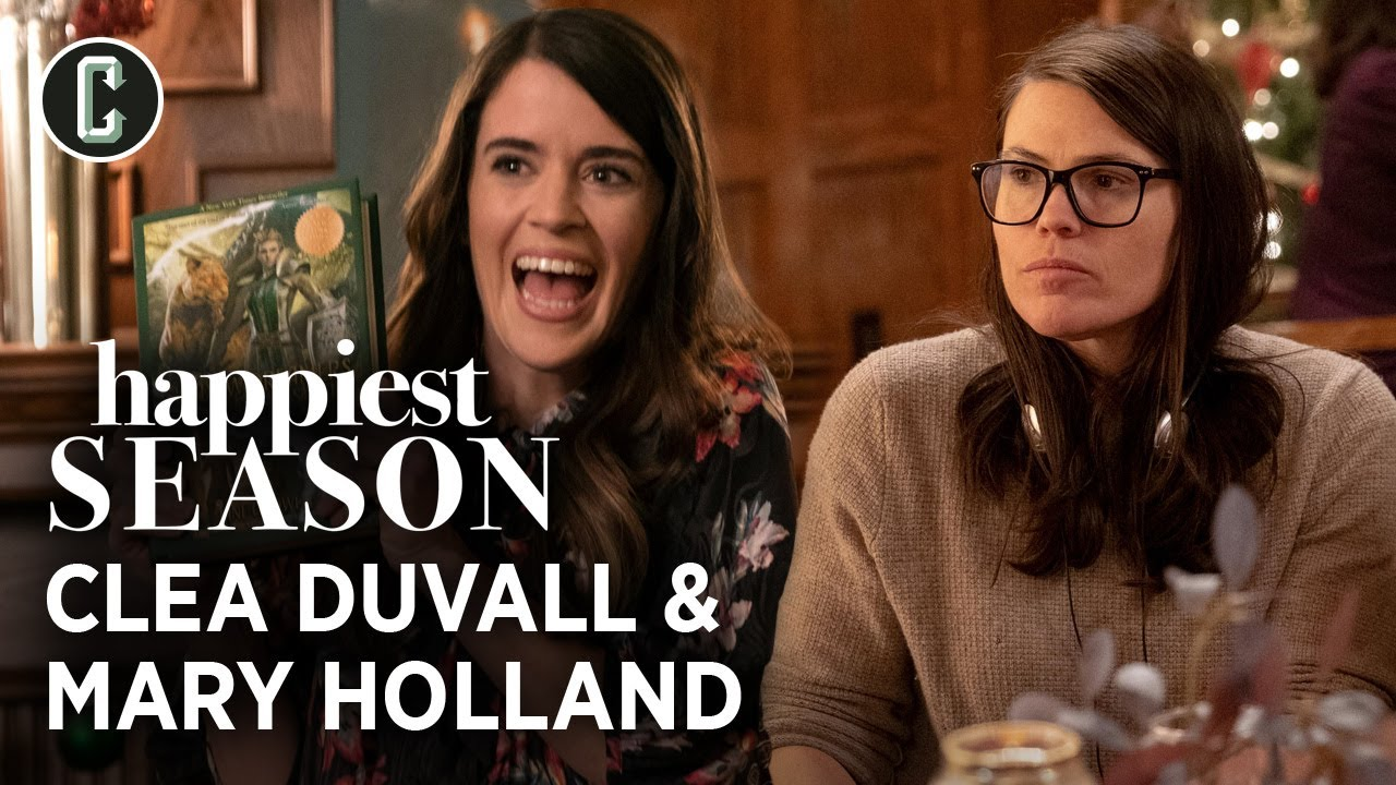 Happiest Season Interview with Clea DuVall and Mary Holland