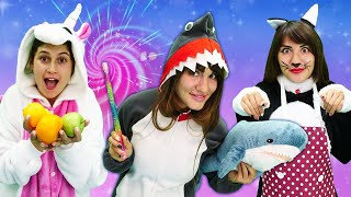 Милая Единорожка в видео онлайн - Волшебная палочка для Акулы! Игры для девочек одевалки