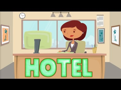 Hotel reservation - Check in & out | English lesson