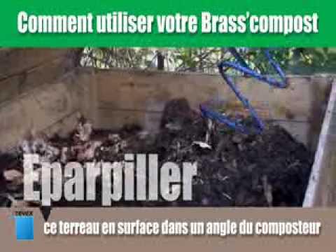 brasscompost revex outils de jardin outil - YouTube