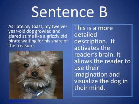 BCLN - English - Descriptive Writing