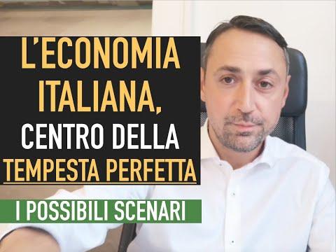 L'ECONOMIA ITALIANA AL CENTRO DELLA TEMPESTA PERFETTA? I POSSIBILI SCENARI