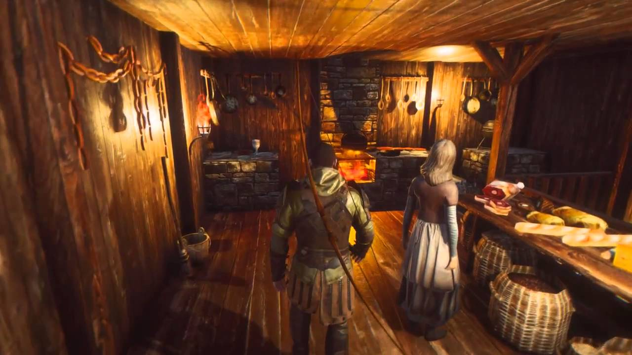 Village Interiors Kit - Inn Interior - by 3DForge - YouTube