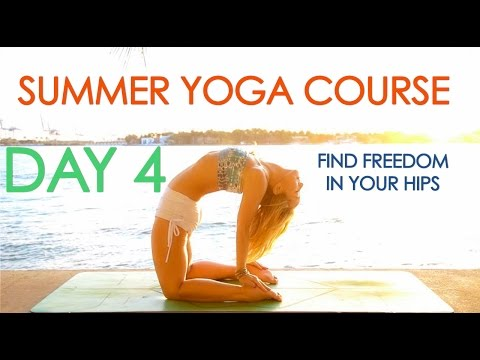 Day 4 Summer Yoga Course - Find Freedom in your Hips