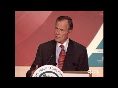George H.W. Bush on Canada–U.S. Trade – June 5, 1999