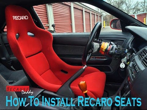 How To Install Aftermarket Seats Recaro Buddy Club