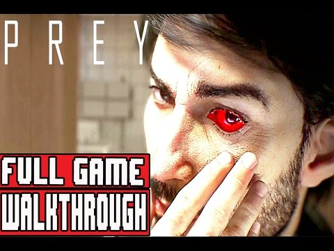 PREY Gameplay Walkthrough Part 1 FULL GAME 1080p No Commentary (PREY 2017 FULL GAME)