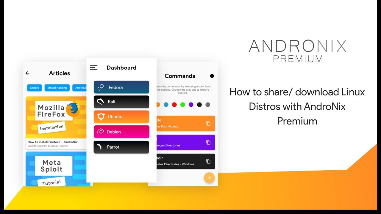 How to Install/Share any Linux Offline- Andronix Premium - AndroNix
