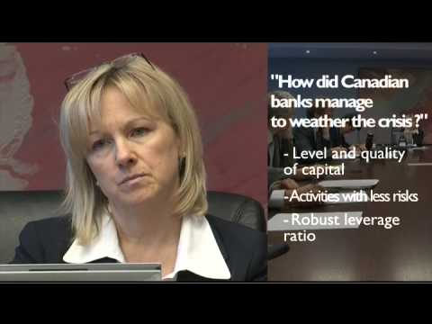 Interview of the Superintendent of the Financial Institutions (OSFI) Canada
