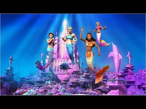 Barbie Film Complet en Français Barbie et le Secret des sirènes-Animation Comédie Courte