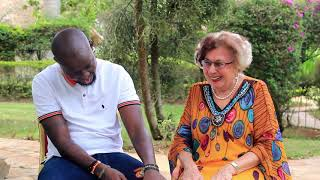 Maria Prean Interview with Eddy Kenzo - Education Challenge
