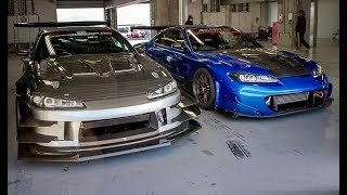 BEST OF SILVIA 240SX 180SX EXHAUST SOUND COMPILATION