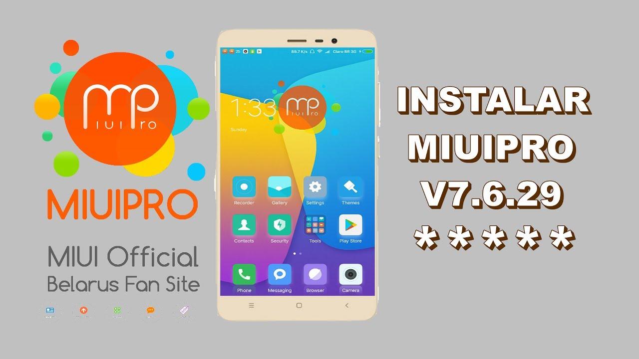 INSTALLING MIUIPRO - Xiaomi redmi NOTE 4 MTK