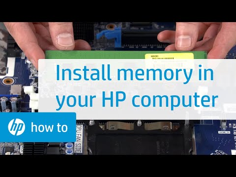 How to Install Memory in Your HP Computer: HP Workbench Series | HP  Computers | HP