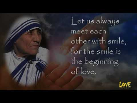 Inspirational Mother Teresa Quotes
