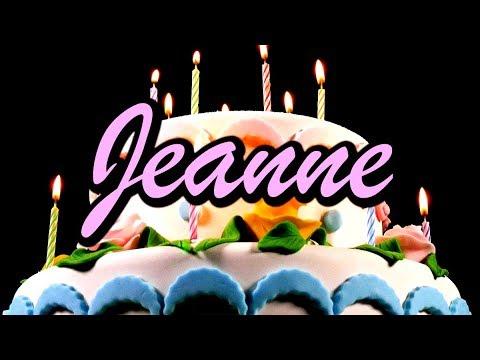 Joyeux Anniversaire Jeanne Youtube