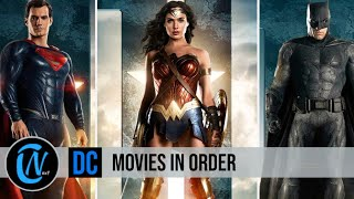 DC MOVIES IN ORDER | WATCH ALL THE DCEU MOVIES
