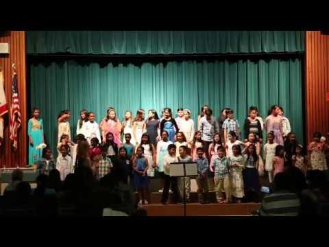 Curtner Elementary School Chorus Concert 2017 (Part-2)