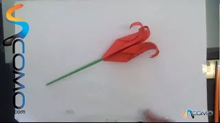 Hacer Una Rosa Origami - Make An Origami Rose