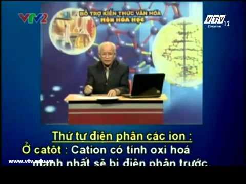 Bổ trợ kiến thức hóa học-Điện li, điện phân, phản ứng axit bazo, pH