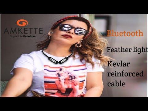 Amkette trubeats urban bluetooth headphone wireless