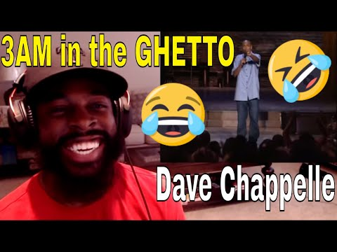 Dave Chappelle | 3am in the Ghetto | E Dewz Reacts
