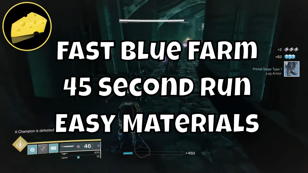 Fast Blue Farm 45 Seconds - Glimmer Legendary Shard Prime Filaments Phantasmal Fragments Farming
