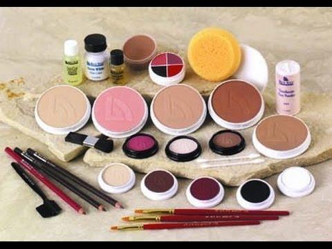Ben Nye Haul And Review - Creme Makeup Kit - YouTube