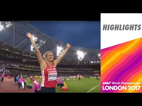 WCH London 2017 Highlights - Javelin Throw - Women - Final - Spotakova wins