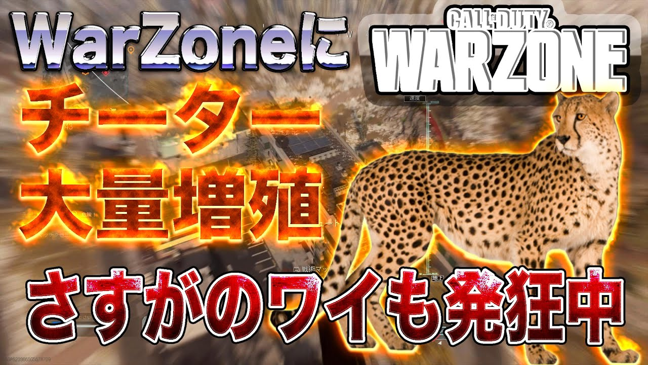 Warzone チーター