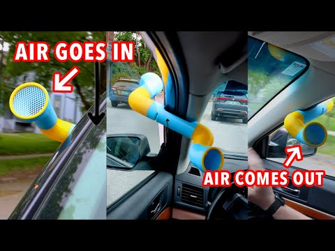 This device will keep you extra cool while driving