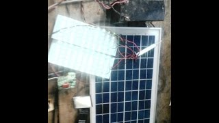 how to make solar light system at home in hindi