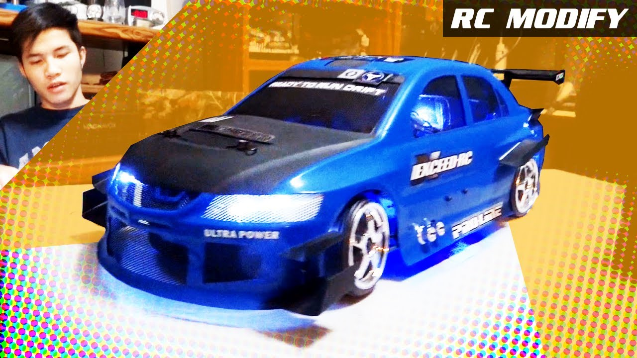 Rc Modify Part Mitsubishi Evo Wtac Youtube